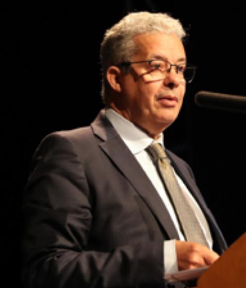 Le secrétaire général du ministère, Ahmed Laamoumri, dans une allocution, mardi (27/11/18) à Skhirat, lue en nom du ministre de la réforme de l'administration et de la fonction publique, Mohammed Benabdelkader, à l'occasion de l'ouverture officielle  de la 17ème édition du Salon des technologies de l'information